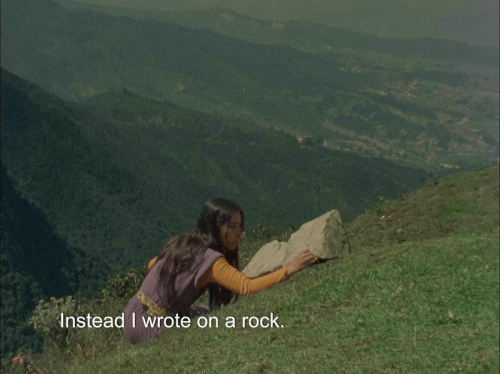 Cecilia Vicuña What is Poetry to you Courtesy of the artist and Lehmann Maupin New York Hong Kong and Seoul